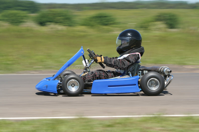 Cadet Kart photo libre de droits