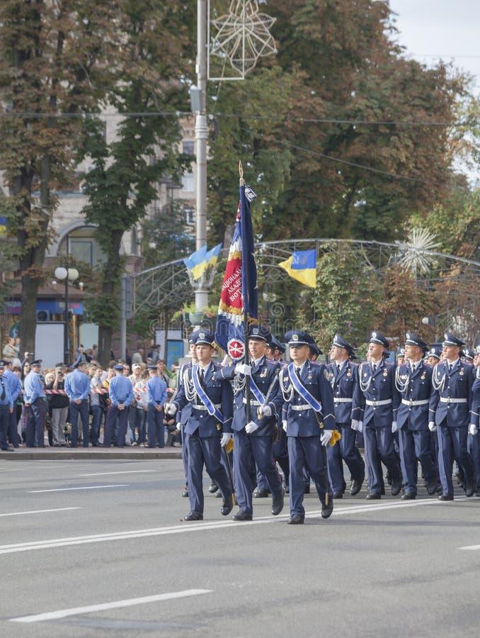 Cadets de l'école de police ukrainienne photos stock