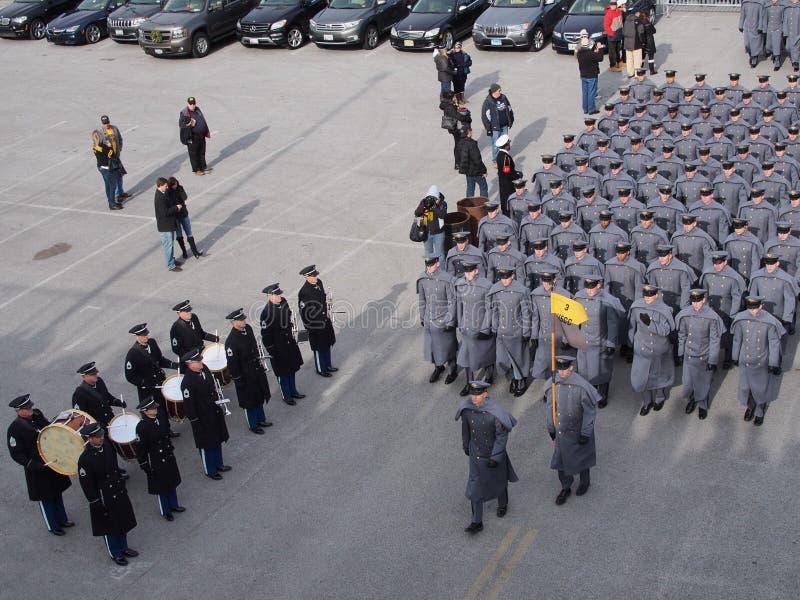 Cadets de l'armée américaine photo libre de droits