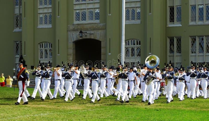 Cadets för Virginia militära institut (VMI) royaltyfri bild