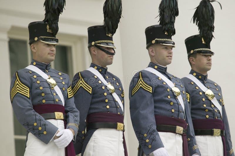 Cadets militaires d'institut de la Virginie (VMI) photo libre de droits