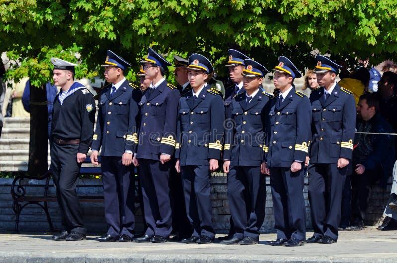 Cadets vietnamiens de marine photo libre de droits
