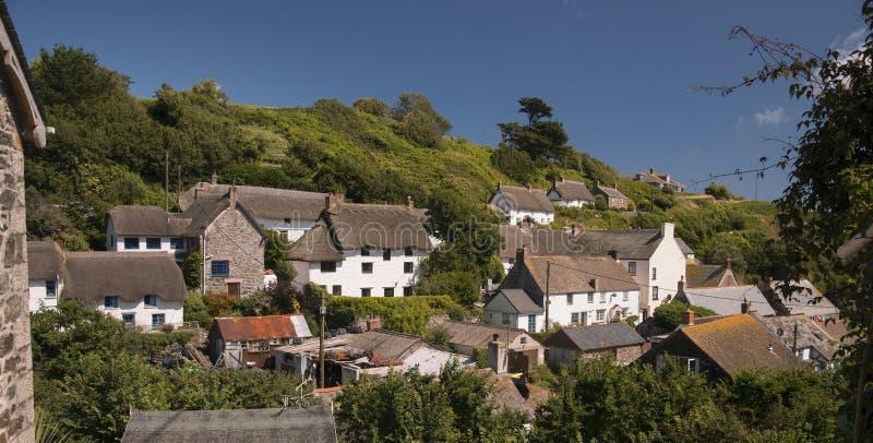 Cadgwith-Dorf stockbild
