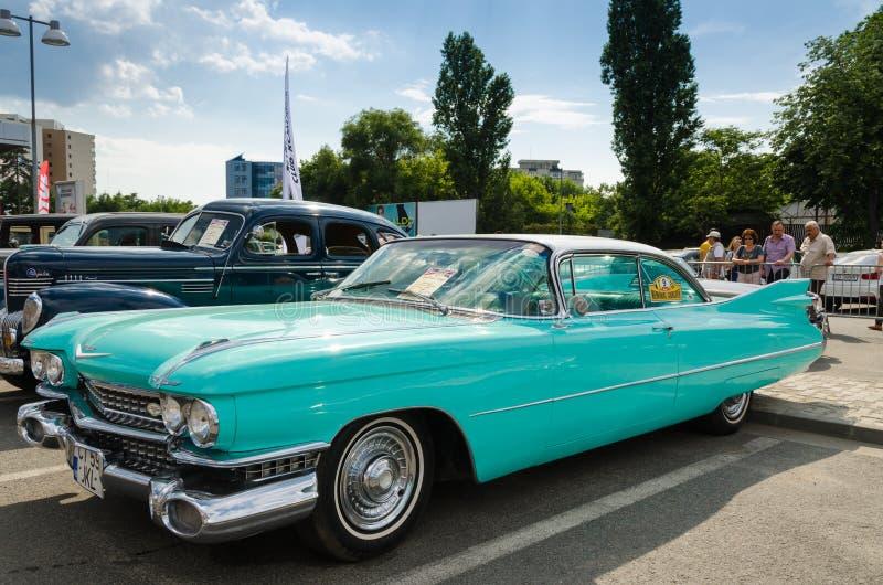 Cadillac-Coupé Deville 1959 stockfoto