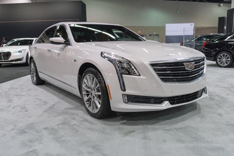 Cadillac CT6 3 0TT na exposição foto de stock