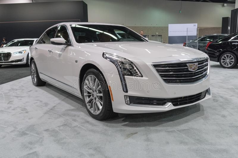 Cadillac CT6 3 0TT sur l'affichage photo stock