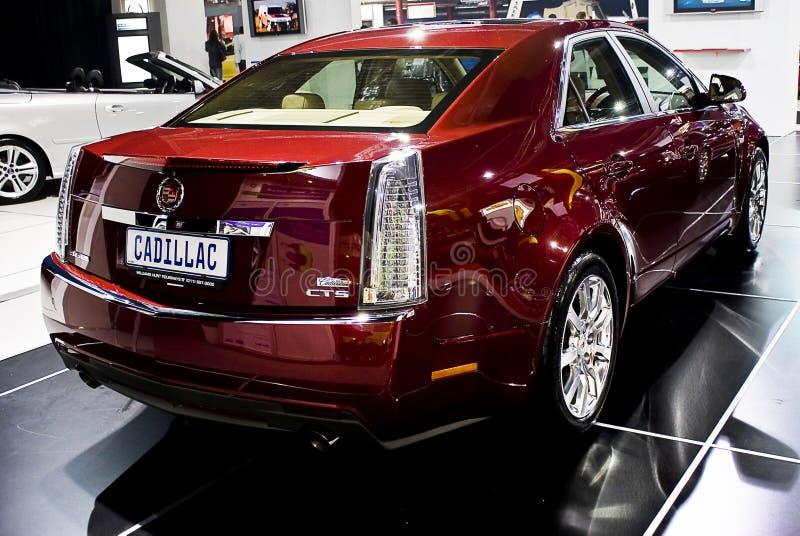 Cadillac CTS - MPH da esquerda traseira terceiro - imagem de stock