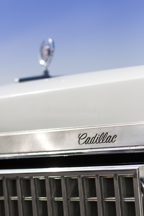 Cadillac detail stock image