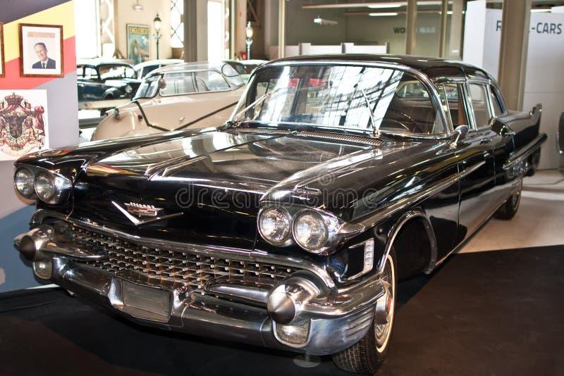 Cadillac-Eldorado 1958 stockfoto