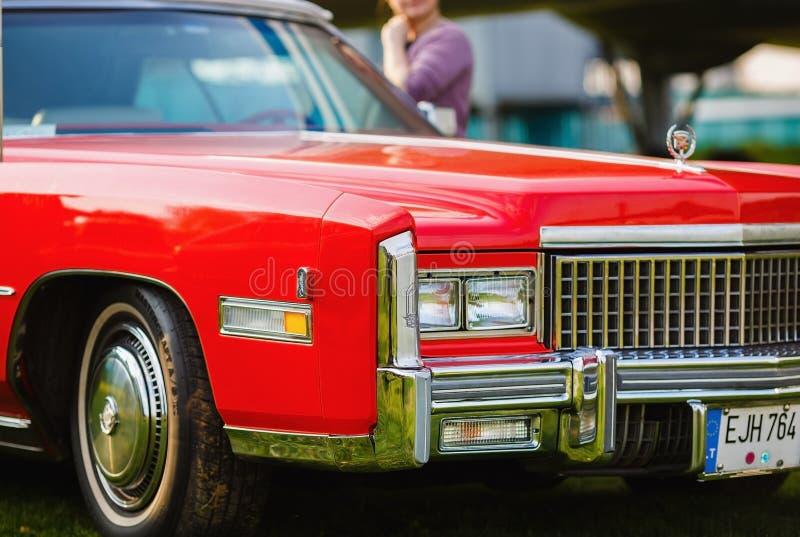 Cadillac-Eldorado - retro auto stock afbeelding