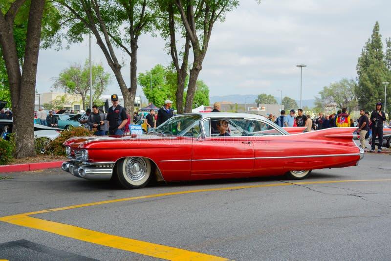Cadillac-Eldoradooldtimer auf Anzeige lizenzfreies stockfoto