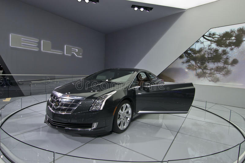 Cadillac ELR stock photography