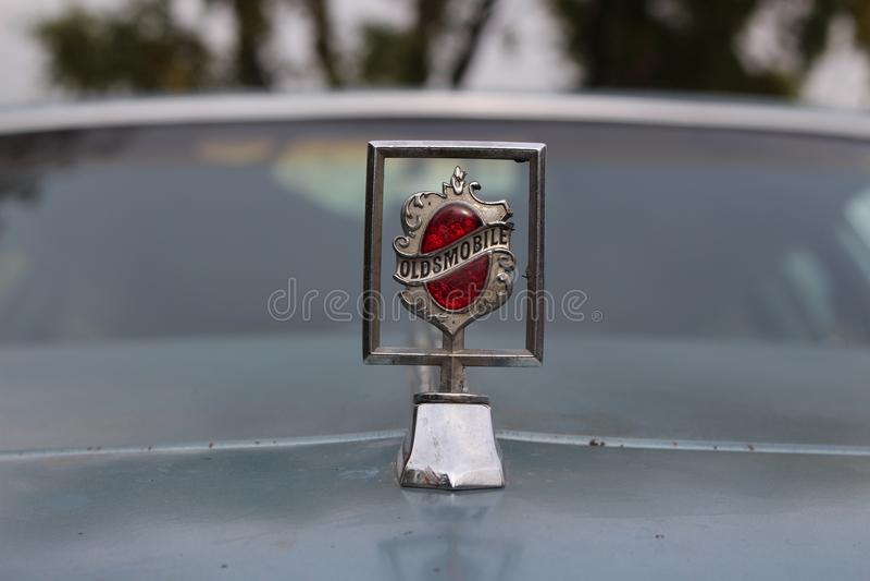 Cadillac-embleem royalty-vrije stock foto