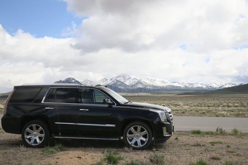 Cadillac Escalade arkivfoton