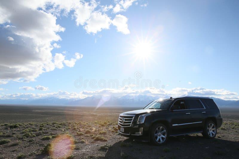 Cadillac Escalade royaltyfri fotografi