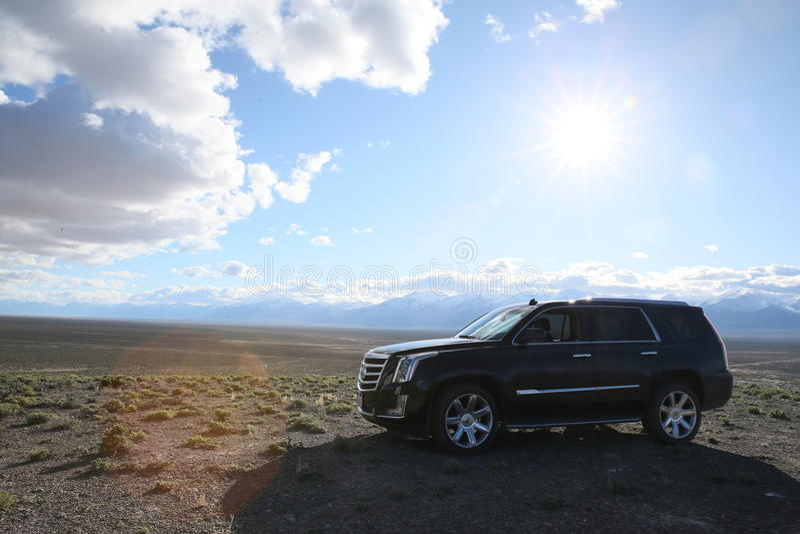 Cadillac Escalade royalty free stock image