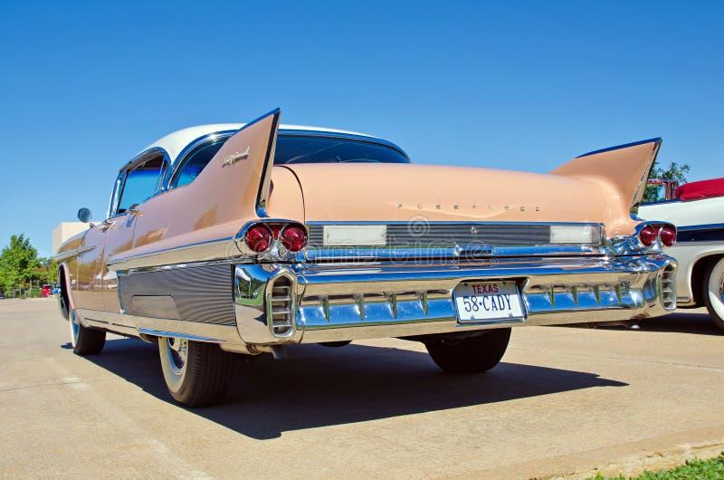 Cadillac 1958 Fleetwood fotos de archivo