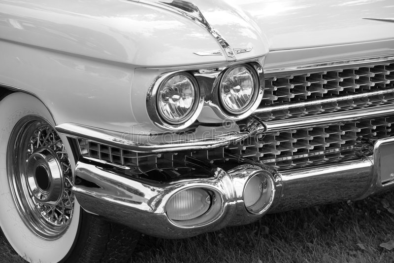 Download Cadillac Front End stock image. Image of picture, motorcar - 7704855