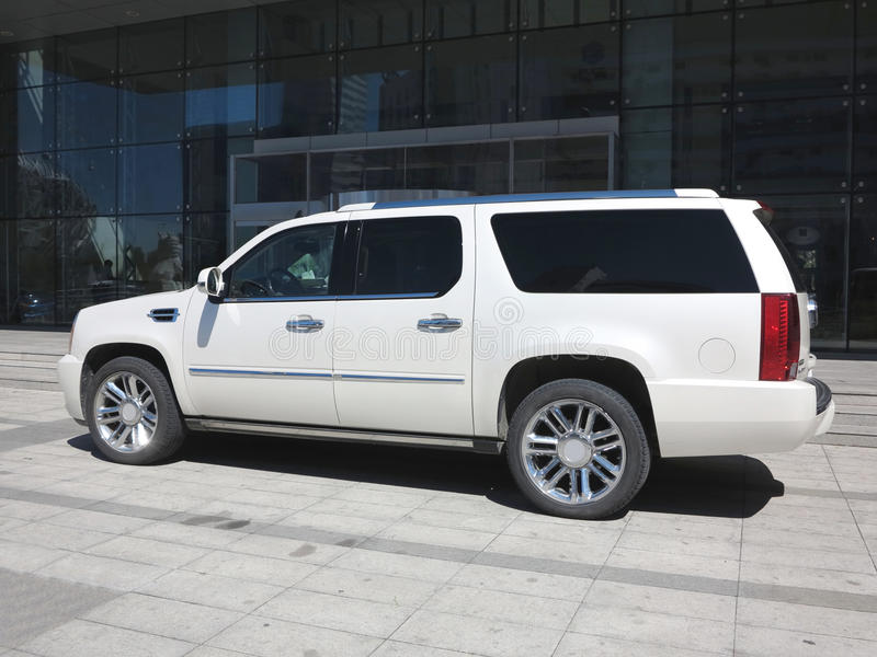 Cadillac Hybride Suv, royalty-vrije stock foto's
