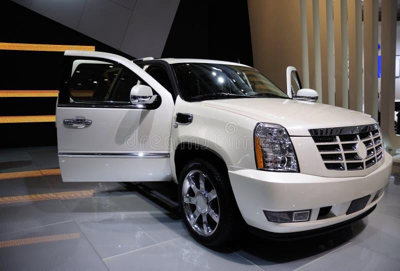 Cadillac Hybride Suv, Auto stock fotografie