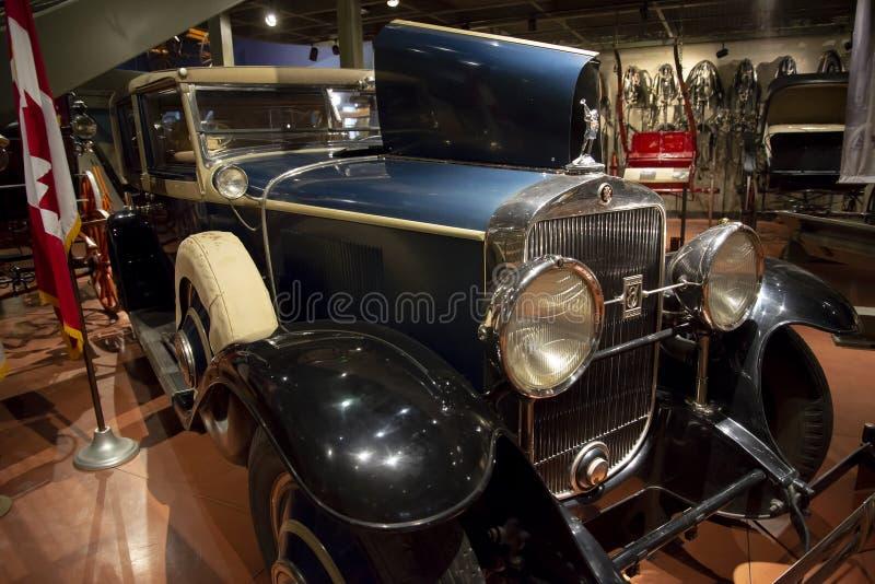 Cadillac-Kaisercoup?-Automobil 1928 lizenzfreies stockbild