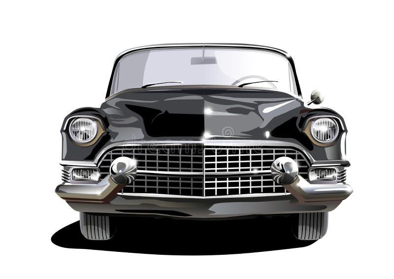 Download Cadillac nero illustrazione di stock. Illustrazione di sopra - 7316909
