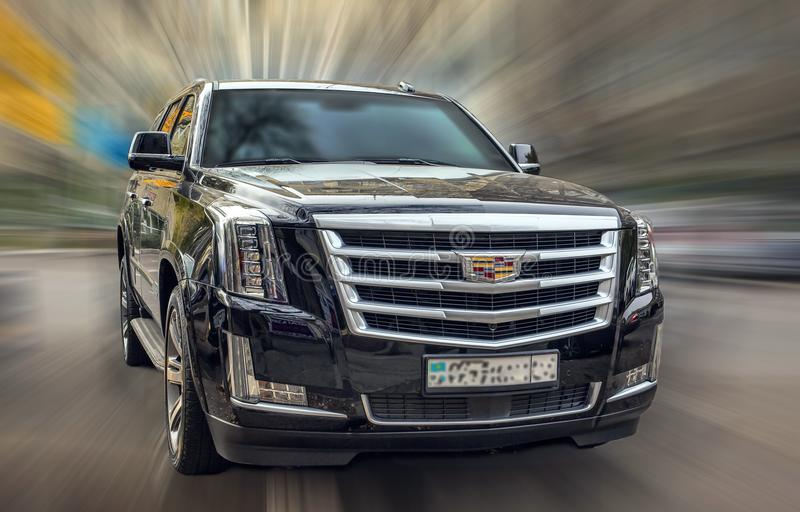Cadillac noir images stock