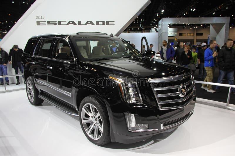 Cadillac novo Escalade 2014 imagem de stock royalty free