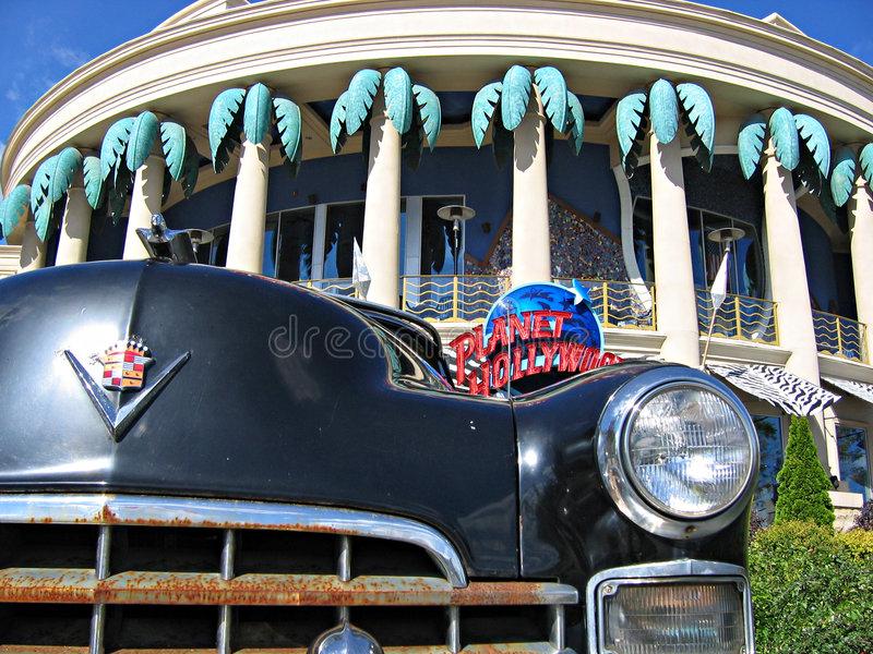 Cadillac and planet hollywood