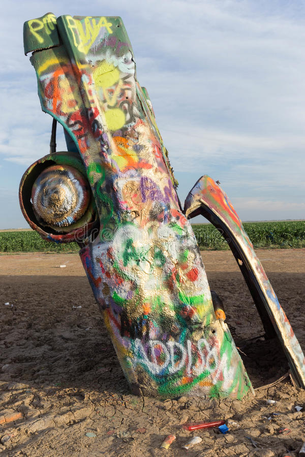 Cadillac-Ranch stockfotografie