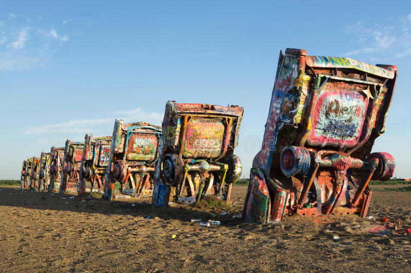 Cadillac-Ranch stockbilder