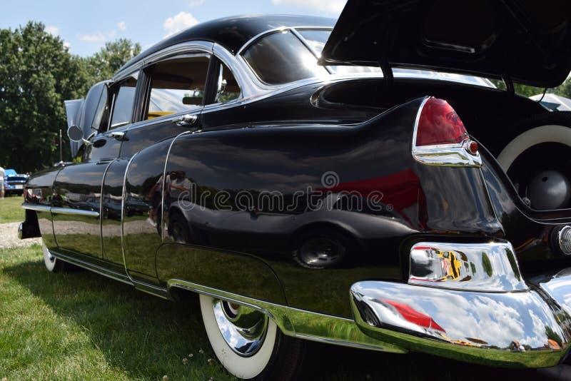 Cadillac Sedan 1955 arkivfoton