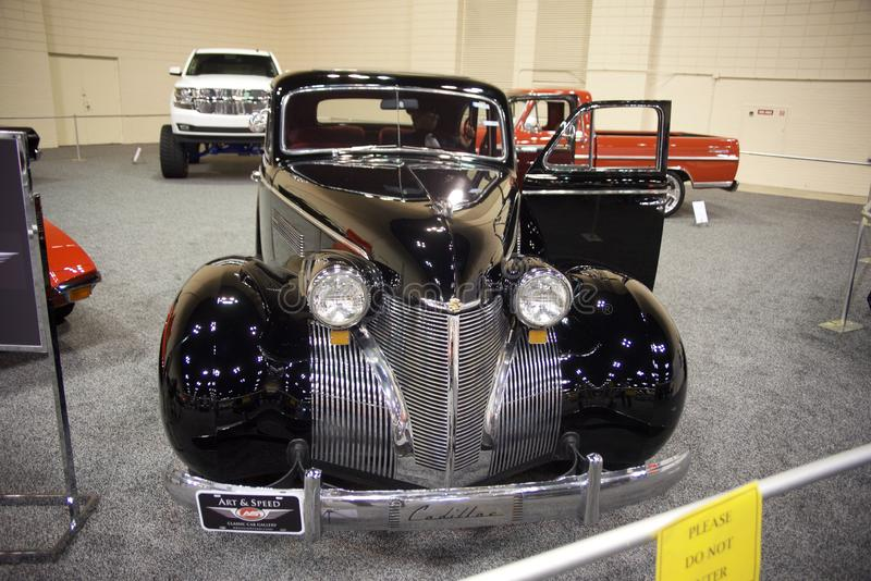 1939 Cadillac Series 70 Front Grill stock photo
