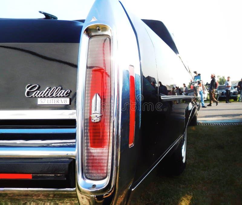 Cadillac V8 photographie stock libre de droits
