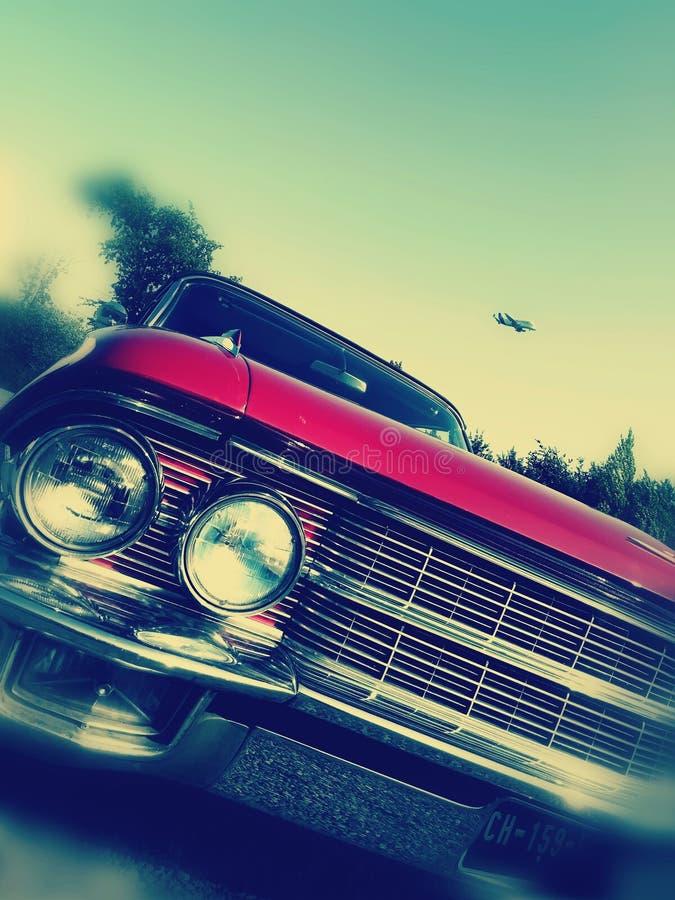 Cadillac/Weißwal lizenzfreies stockfoto