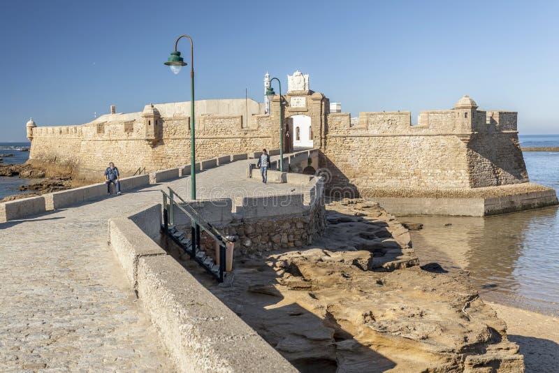 Cadiz, Andalucia, Spanje royalty-vrije stock foto