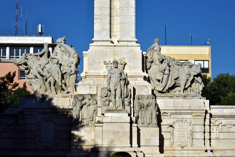 Cadiz. 1812 Constitution Monument. stock photo