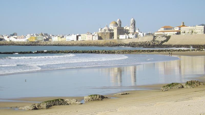 Cadiz gammal stad royaltyfria bilder