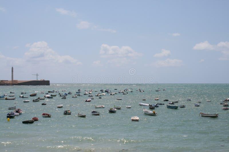 Cadiz-Küste lizenzfreie stockbilder