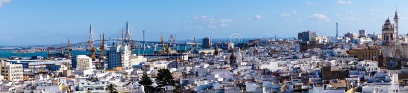 Cadiz Spanje Andalusia royalty-vrije stock foto