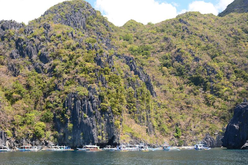 Cadlao Island. Bacuit archipelago. El Nido. Palawan. Philippines. El Nido is a tourist destination in the western province of Palawan, Philippines; it's the stock photography