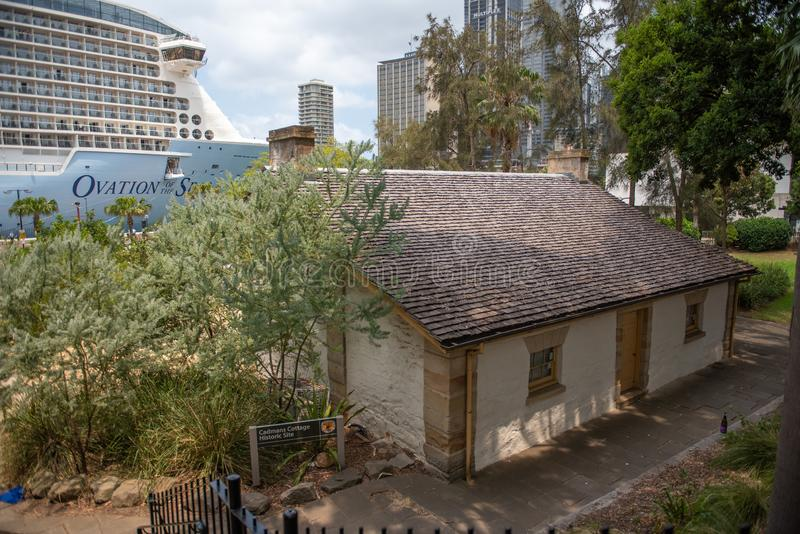 Cadman's huis, Sydney, Australië royalty-vrije stock afbeelding