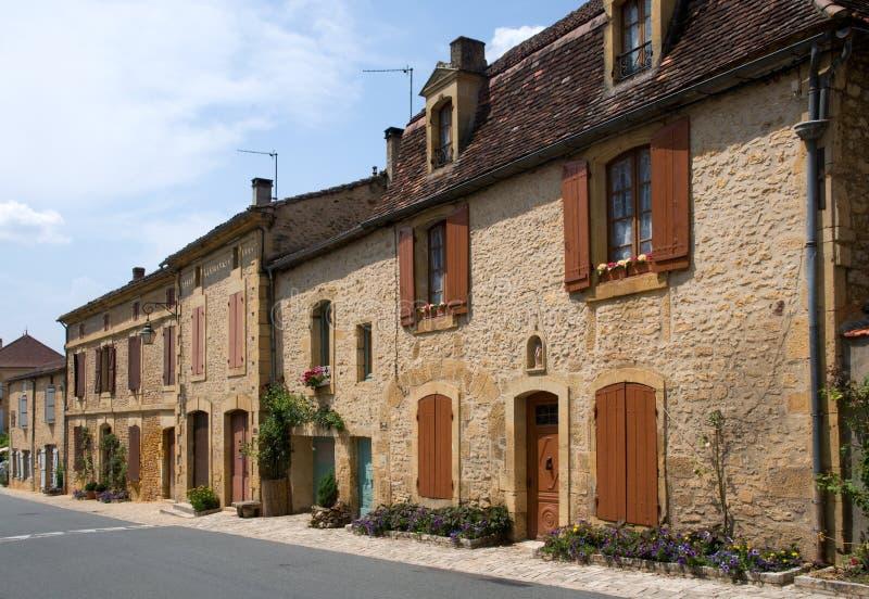 Cadouin, France images libres de droits
