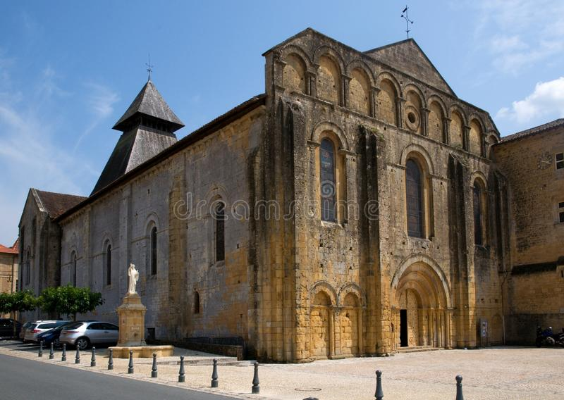 Cadouin, France photo stock