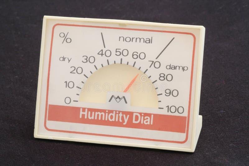 Cadran d'humidité images libres de droits