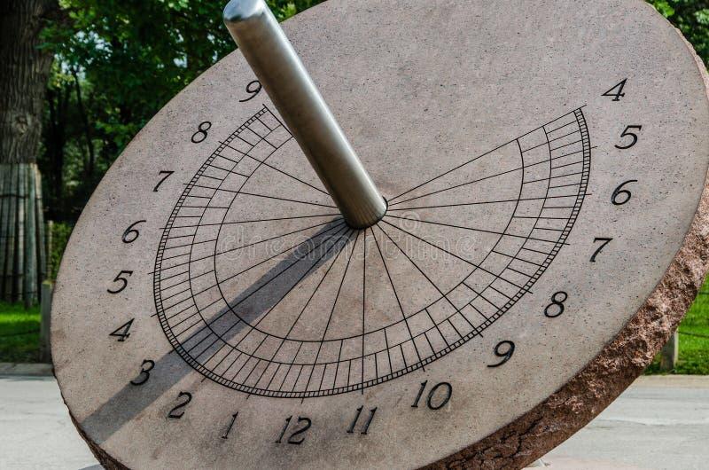 Cadran de Sun images libres de droits