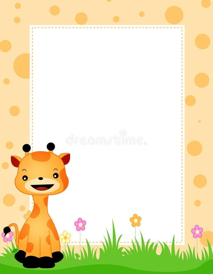 Cadre animal illustration stock