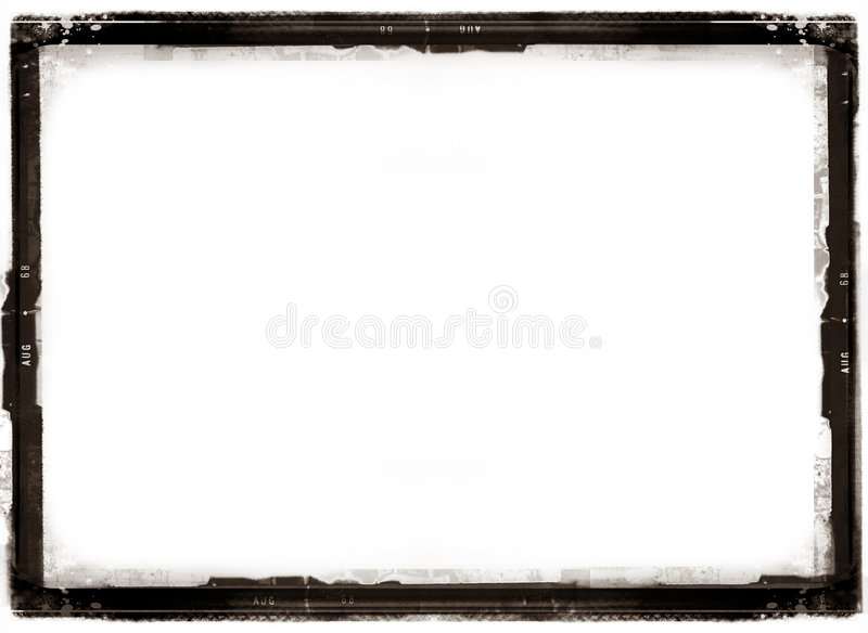 Cadre antique de photo illustration stock