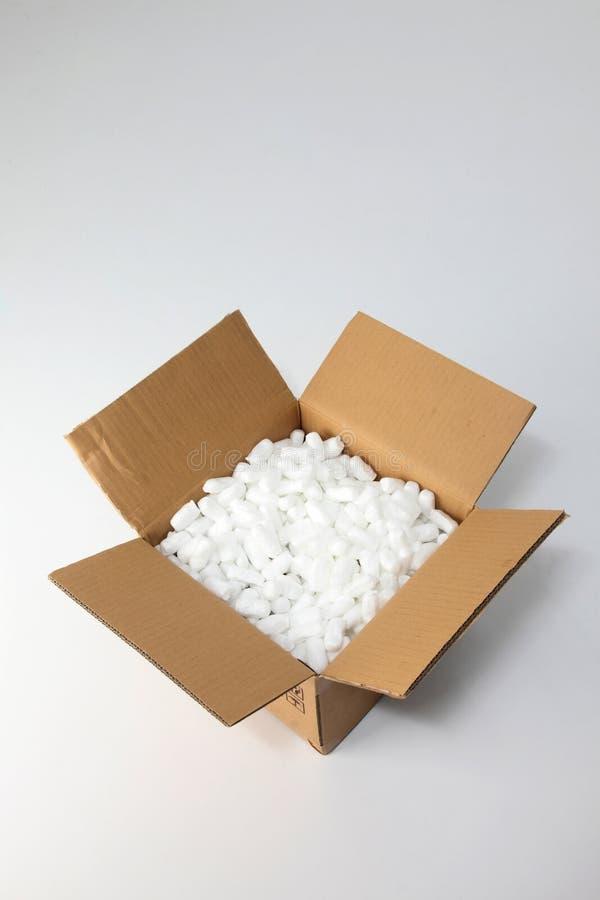 Cadre avec la forme d'emballage photographie stock