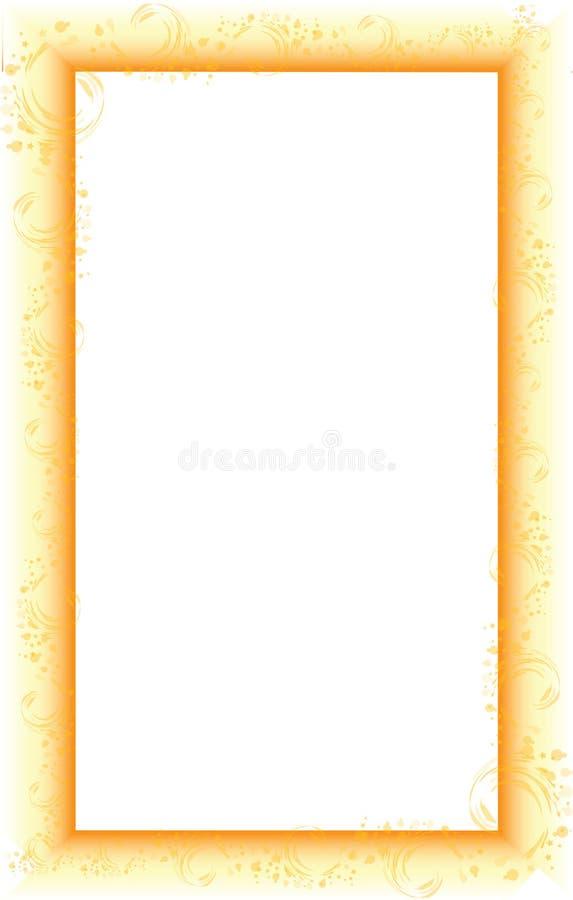 Cadre avec le gradient illustration libre de droits